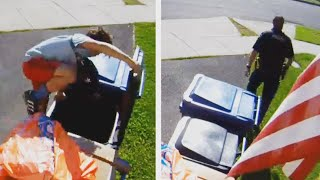 Kid Hides From Cops in Trash Can Full of Baby Diapers