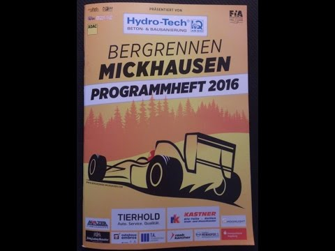 Bergrennen Mickhausen 2016 Crash Holger Hovemann