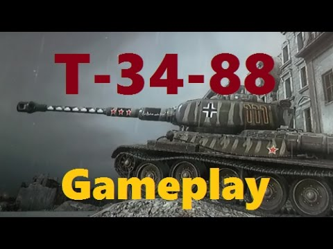 World of Tanks Xbox One T-34-88 Gameplay