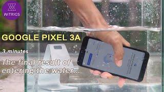 Google Pixel 3a Waterproof Test - Outdoor