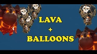 lava + balloons 9 TH 3 stars