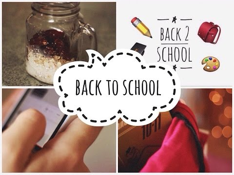 BACK TO SCHOOL: КАК НЕ ОПАЗДЫВАТЬ НА УЧЁБУ ( советы + лайфхаки)