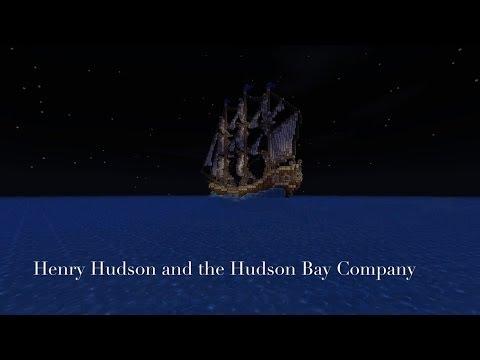 Voyage of Henry Hudson (Minecraft Short Film)