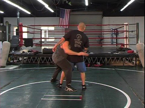 Jujitsu Grappling Techniques : Jujitsu: Cross-Right Takedown Image 1