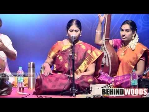 Kalaivizha 2014 7th Day | Nithyasree Mahadevan 1 - BW