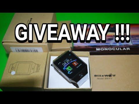 Giveaway Smartwatch Dan Pulsa