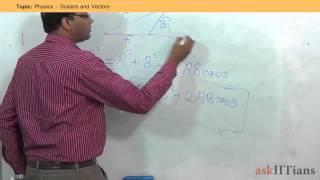 Scalars and Vectors Physics Class 11 IIT JEE Main Advanced NEET AIPMT askIITians