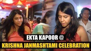 Ekta Kapoor At Krishna Janmashtami Celebration