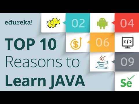 Top 10 Reasons to Learn Java | Why Learn Java Programming | Java Training | Edureka
