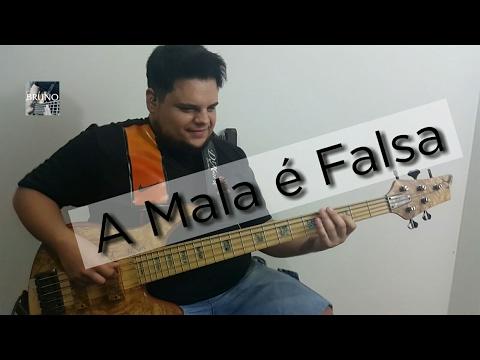 FORRÓ NO BAIXO - A MALA É FALSA - BRUNO GUIMARÃES (WESLEY SAFADÃO) BASS COVER