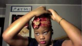 High Sock Bun Tutorial (with clip in extensions)