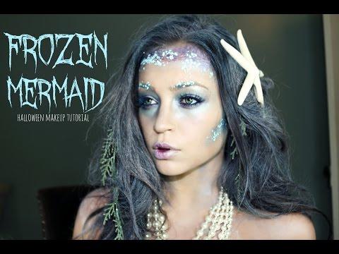 Frozen Mermaid Halloween Makeup Tutorial