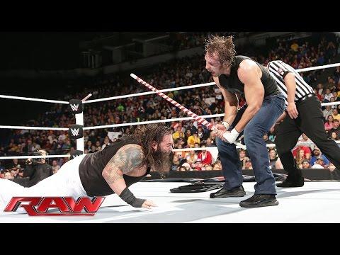 Dean Ambrose vs. Bray Wyatt - Miracle on 34th Street Fight: Raw, December 22, 2014