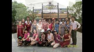 Trường Việt Hòa du lịch Huế-Đà Nẵng Hè 2014