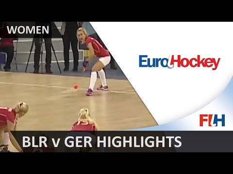 Belarus v Germany - Bronze Medal Match Highlights - Women's EuroHockey Indoor Championships 2016