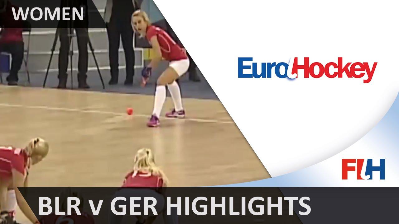 Belarus v Germany - Bronze Medal Match Highlights - Women's EuroHockey Indoor Championships 2016
