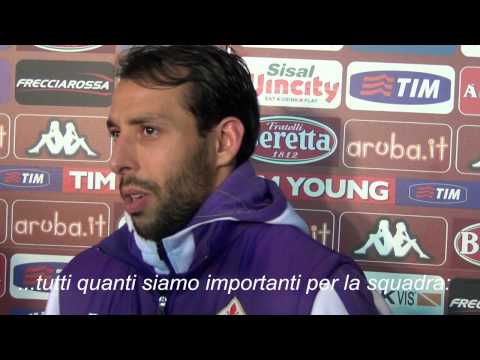 EL HAMDAOUI dopo Torino-Fiorentina 2-2