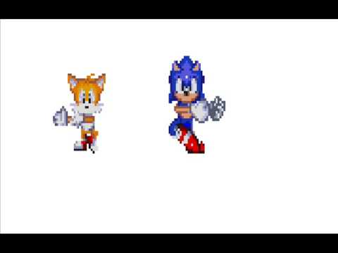fusion sonic y tails - YouTube