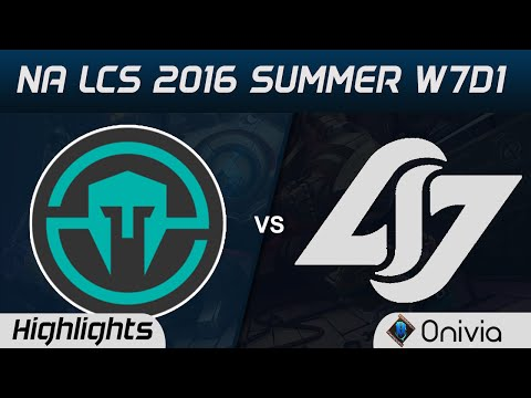 IMT vs CLG highlights Game 3 NA LCS 2016 Summer W7D1 Immortals vs Counter Logic Gaming