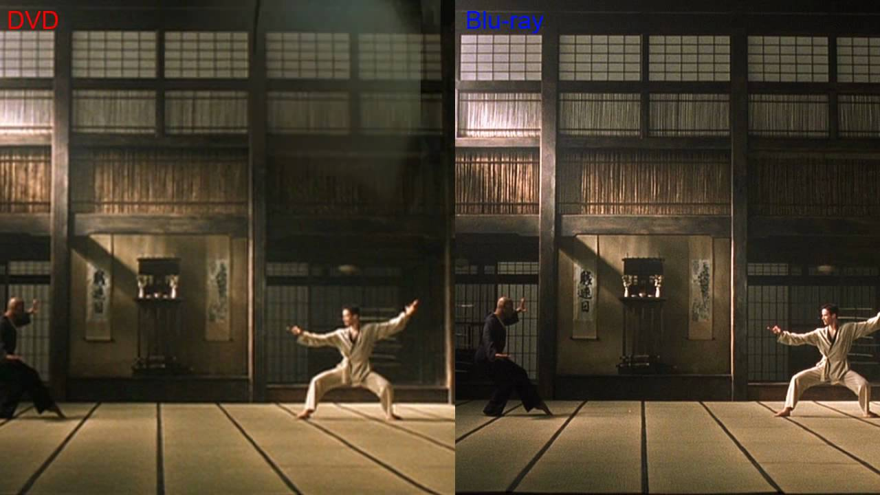 1080p Dvd Player vs Blu Ray Blu-ray vs Dvd Comparison