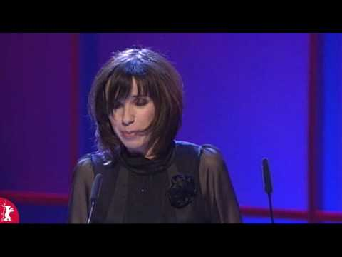 Sally Hawkins Joyfully Accepts Her Silver Bear at Berlinale 2008 :) :) :)