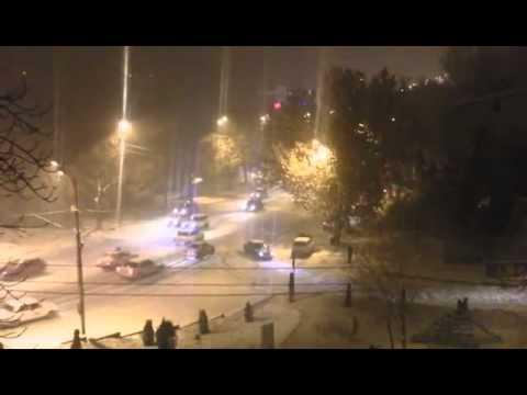 Подборка аварий. Зима, конец 2011 года