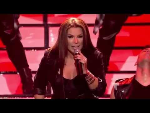 Olga Tañón canta 'Todo lo que sube baja' en 'Yo Soy El Artista' VIDEO
