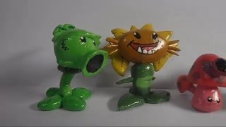 Plants Vs. Zombies 2: All Jurassic Marsh plants figures
