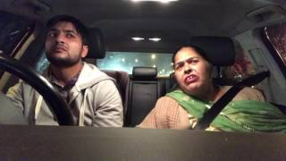 Road Rules Sammy With Mom | Punjabi Funny Video | Latest Sammy Naz