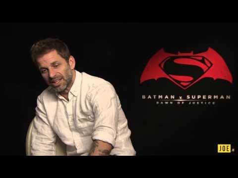 Zack Snyder on Ben Affleck making a solo Batman film