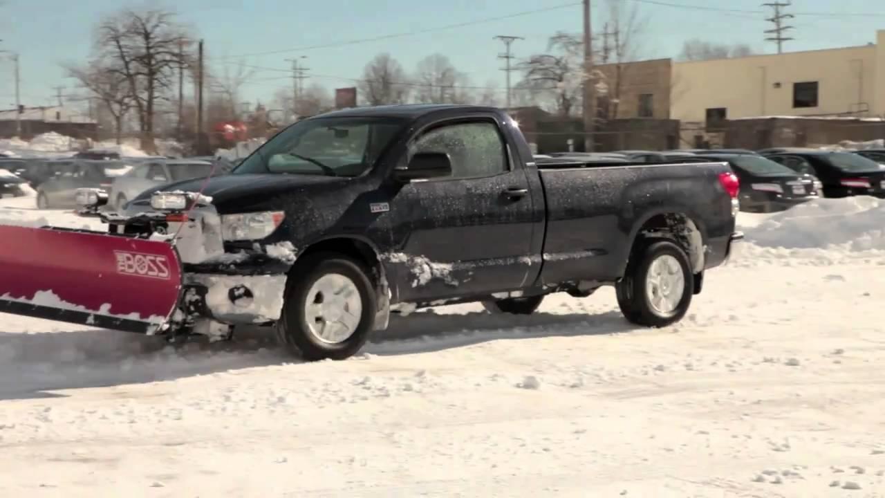 Toyota Tundra Plow Truck Youtube