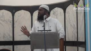 5 8Conditions Of Kalima By Shaikh Arshad Basheer Madani