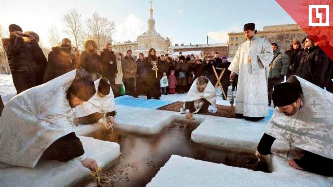 Москва готовится к празднику Крещения