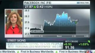 Jon on CNBC Talking Facebook