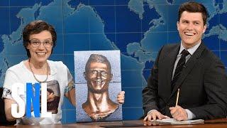 Weekend Update: Cecilia Gimenez on Cristiano Ronaldo Bust - SNL
