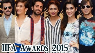 Anil Kapoor, Huma Qureshi, Vivek Oberoi, Ayushmann, Akshara, Kriti Cast Vote For IIFA Awards 2015