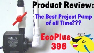 Best Aquarium Filter Pump: Eco 396 Submersible Pump