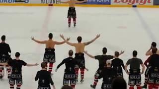 Ässät-Lukko Game after show ja HU huudot!!!