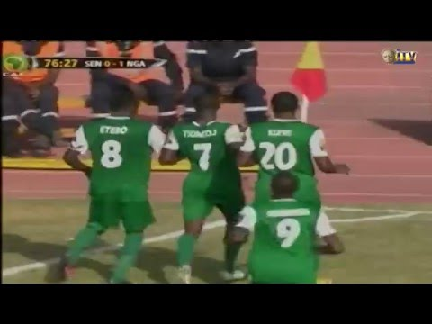 Nations Cup: Nigeria defeat Senegal one nil