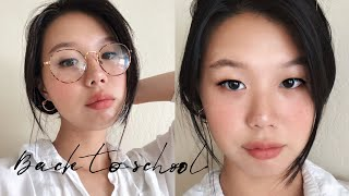 Simple Back To School Makeup | Cruelty Free Korean Makeup