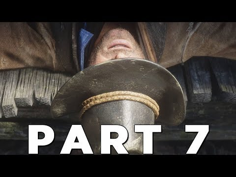 RED DEAD REDEMPTION 2 Walkthrough Gameplay Part 7 - GANG HIDEOUT (RDR2)