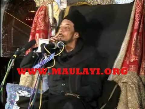 Allama Zameer Akhtar Naqvi In Chota Imambada,lucknow 7th Majlis video