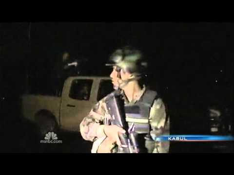 NATO Helicopters Fire On Kabul Hotel Gunmen & Kill 3 Attackers On Rooftop; 19 Dead