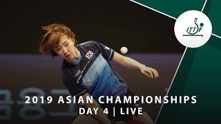 2019 ITTFATTU Asian Championships DAY 4 LIVE