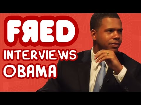 FRED Interviews OBAMA \