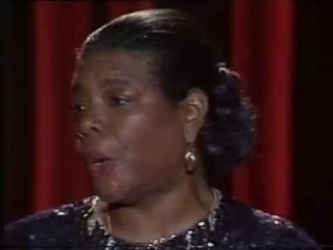 Maya Angelou Live and Unplugged