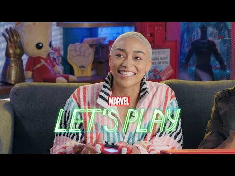 Tati Gabrielle puts a spell on Marvel's Spider-Man for PS4   Marvel Let's Play