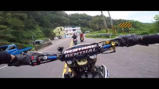 GoPro HERO4 # MT-09 so fast...WR450 follow MT-09