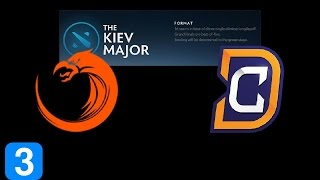 TNC vs DC Game 3  Kiev Major Highlights Dota 2