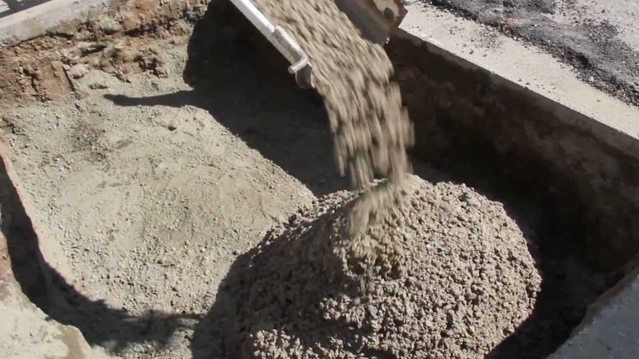 Flowable Fill Concrete Clsm Controlled Low Strength